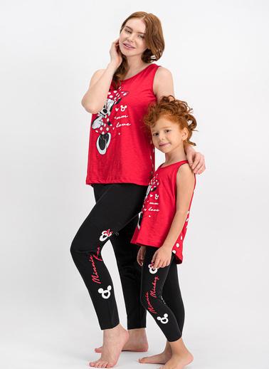 Minnie Mouse Pijama Takım Kırmızı